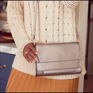 New Summer & Rose Céline Crossbody Bag in Steel